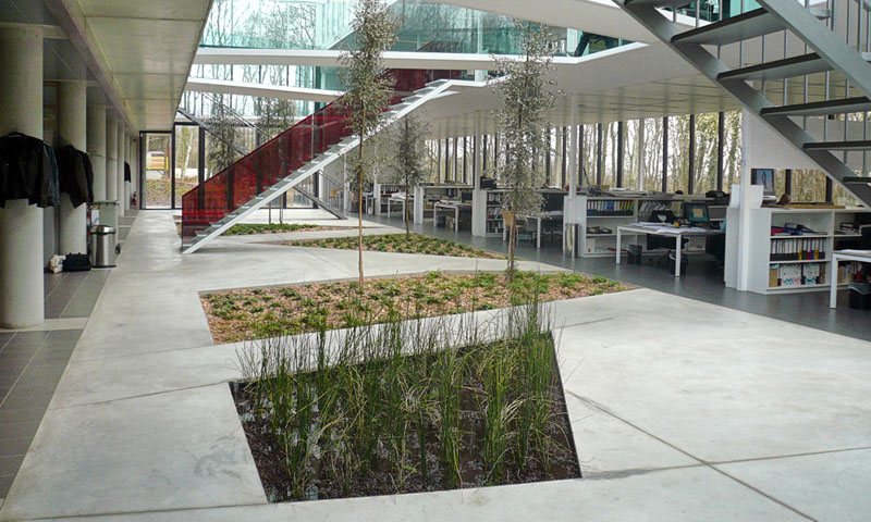 Canevas architectes et ingénieurs extension du bureau greisch